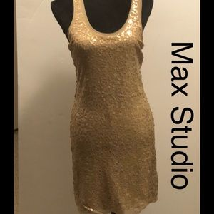 NWT Max Studio sequin dress size M
